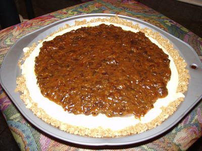 Prune Pie, Pre-Whipped Cream